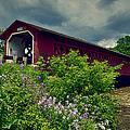Vermont Covered Bridge by John Haldane
