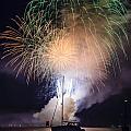 Vermont Fireworks by Randall Bertrand