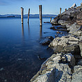 Vermont Lake Champlain Sunrise Burlington by Andy Gimino