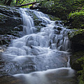 Vermont New England Waterfall Green Trees Forest by Andy Gimino