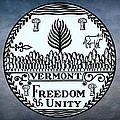 Vermont State Seal by Movie Poster Prints