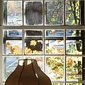 Vermont Window East View  by Brian S Boucher