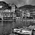 Vernazza - Cinque Terre In Grey by James Anderson