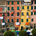Vernazza Facades by Inge Johnsson
