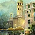 Vernazza Italy by Cecilia Brendel