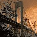 Verrazano Sundown by Jeff Watts