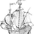 Verrazzano's Ship by Granger