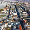 Vertical Aerial View Of Berlin by Semmick Photo