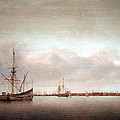 Verwer's View Of Hoorn by Cora Wandel