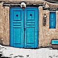 Very Blue Door by Charles Muhle