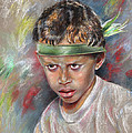 Very Young Maori Warrior From Tahiti by Miki De Goodaboom