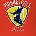Veteran's Day Basketball Tournament Poster by Aloysius Patrimonio