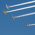 Veterans Day Flyover - Overhead by Allen Sheffield
