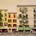 Via Garibaldi In Parma by William Renzulli