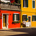 Vibrant Burano by Prints of Italy