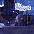 Vibrant Shades Of Blue by Rick Hurst