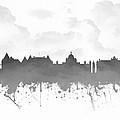 Victoria British Columbia Skyline - Gray 03 by Aged Pixel