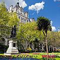 Victoria Embankment Gardens In London Uk by Michal Bednarek