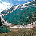 Victoria Glacier From Plain Of Six Glaciers In Banff Np-alberta by Ruth Hager