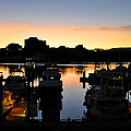 Victoria Harbor Sunset 3 by Kirt Tisdale