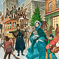 Victorian Christmas Scene by Peter Jackson