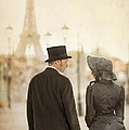Victorian Couple In Paris by Lee Avison