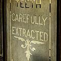 Victorian Dentist Sign by Adrian Evans