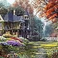Victorian Garden by Dominic Davison