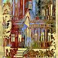 Victorian Home Dream by Ellen Cannon