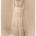 Victorian Wedding Wedding Dress by Susan  Lipschutz