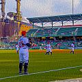 Victory Field Catcher 1 by David Haskett