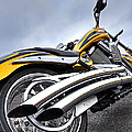 Victory Motorcycle 106 Vertical by Gill Billington