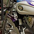 Victory Motorcycle Engine by Dennis Coates