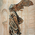 Victory Of Samothrace by Joey Agbayani