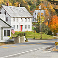 Vienna Maine In Fall by Keith Webber Jr