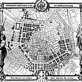 Vienna: Plan, 1860 by Granger