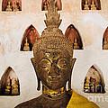 Vientiane Buddha 2 by Dean Harte