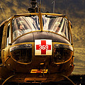 Vietnam Era Medivac 369 Helicopter by Thomas Woolworth