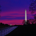 Vietnam Memorial Sunrise by Metro DC Photography