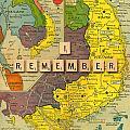 Vietnam War Map by Gary Grayson