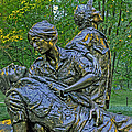 Vietnam Womens Memorial by Jerry Gammon