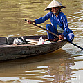 Vietnamese Boatwoman 01 by Rick Piper Photography