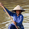 Vietnamese Boatwoman 02 by Rick Piper Photography