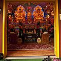 Vietnamese Temple Shrine by Jim Corwin