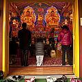 Vietnamese Temple Shrine Prayer by Jim Corwin