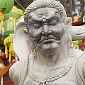 Vietnamese Temple Statue by Jim Corwin