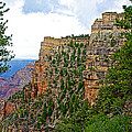 View Four From Walhalla Overlook On North Rim Of Grand Canyon-arizona by Ruth Hager