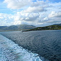 View From A Scottish Ferry by Denise Mazzocco