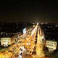 View From Arc De Triomphe - Paris France - 011319 by DC Photographer