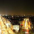 View From Arc De Triomphe - Paris France - 01138 by DC Photographer